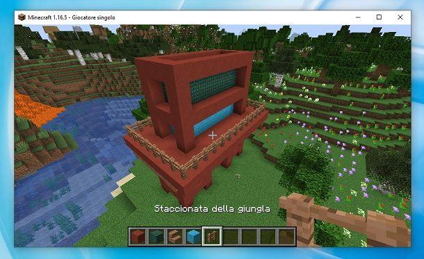 Staccionate della giungla Minecraft
