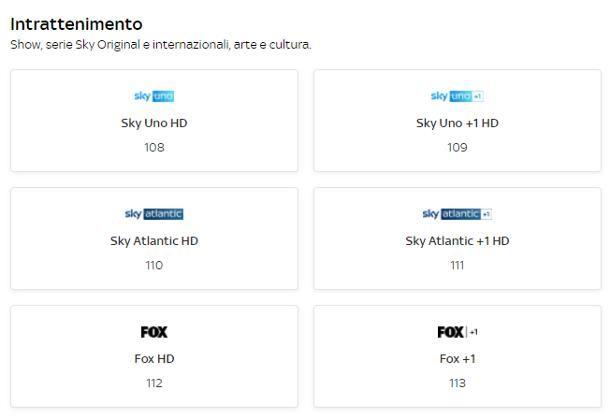 Come vedere i canali Sky in HD