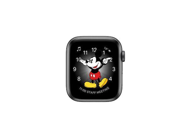 Quadrante Apple Watch Topolino e Minni