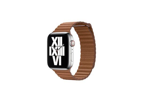 Apple Watch cinturino pelle