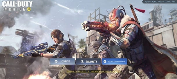 Login Call of Duty Mobile