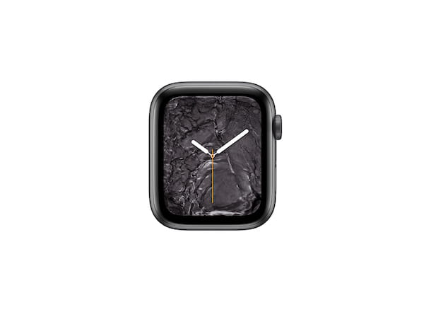 Quadrante Apple Watch metallo liquido