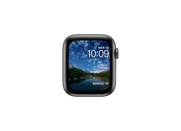 Quadrante Apple Watch Timelapse