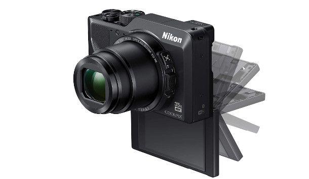 schermo estraibile fotocamera