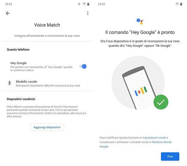 Come sbloccare il telefono con la voce: Android