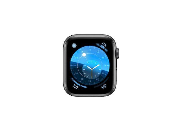 Quadrante Apple Watch Solare