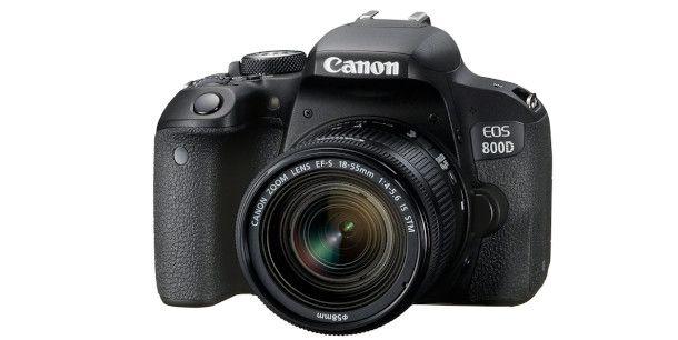 fotocamera Canon EOS 800D