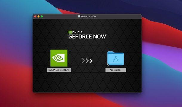 Installare NVIDIA GeForce NOW su macOS