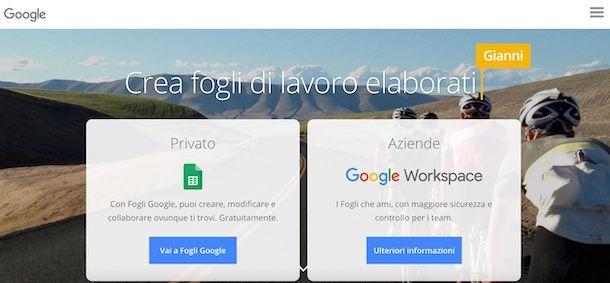 Fogli Google