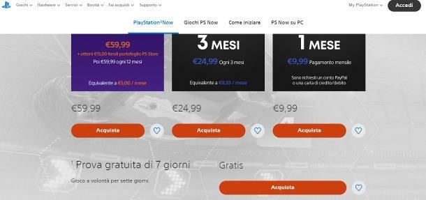 Come avere PlayStation Now gratis: prova gratuita