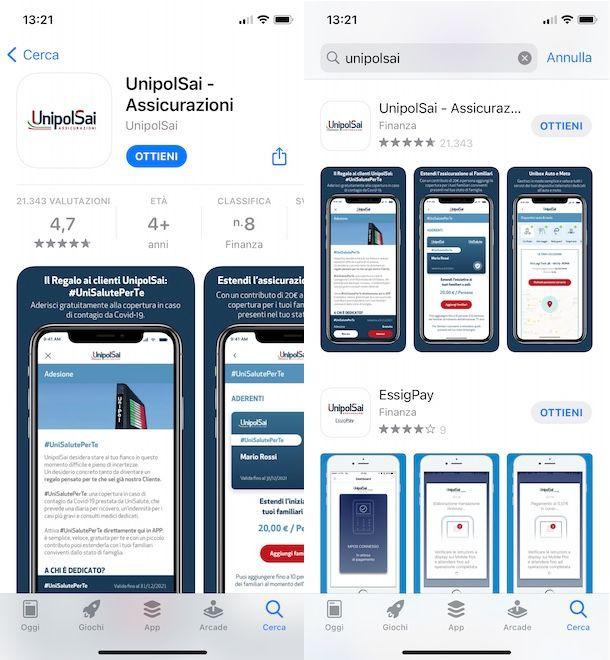 App UnipolSai