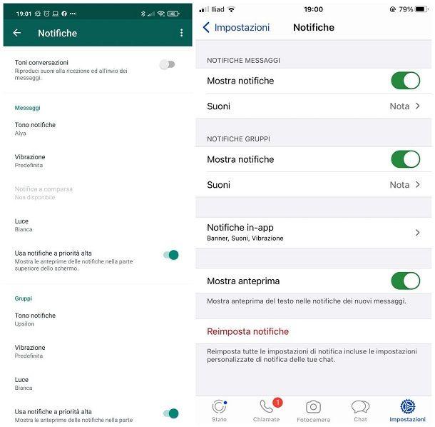 Come personalizzare la suoneria di WhatsApp