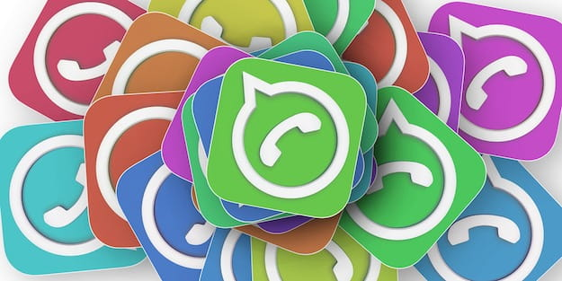 Icone colorate WhatsApp