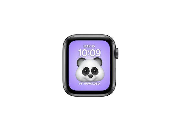 Quadrante Apple Watch Memoji