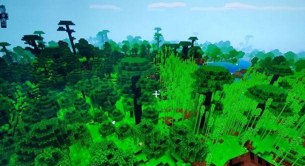 Come trovare la giungla in Minecraft PS4