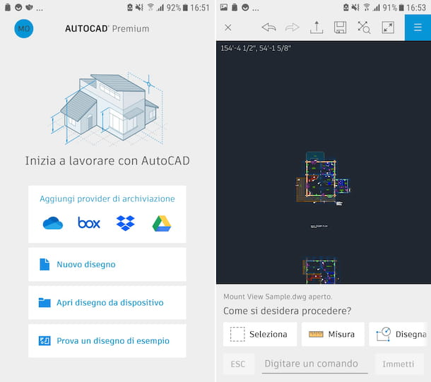 AutoCAD Android