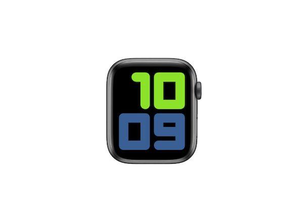 Quadrante Apple Watch Cifre bicolore