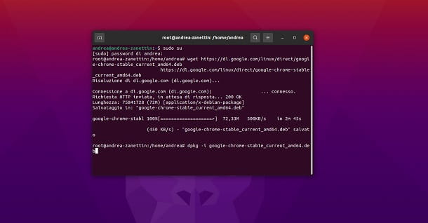 Come installare Chrome su Ubuntu da Terminale
