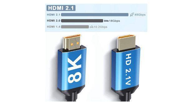 schema velocità di trasferimento cavo HDMI
