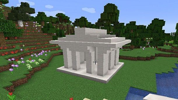 Tempio greco Minecraft