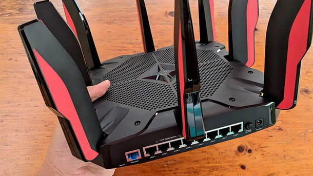 porte router gaming