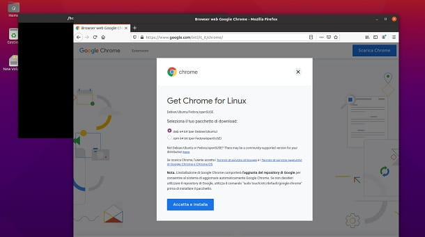 Scaricare Google Chrome Ubuntu