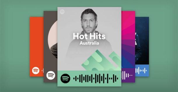 Codici Spotify