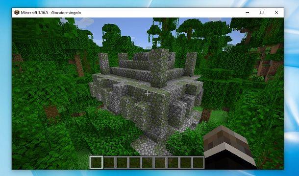 Come trovare il tempio della giungla in Minecraft