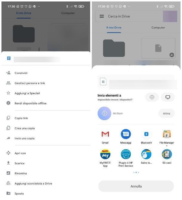 Come recuperare backup di Google Drive: dati