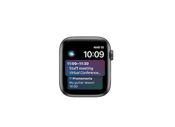 Quadrante Apple Watch Siri