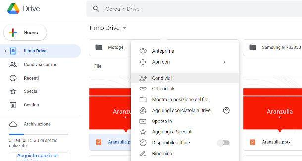 Google drive da PC