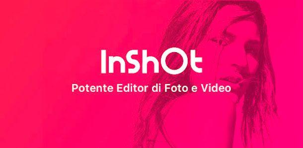 schermata InShot logo