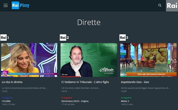 Come vedere i canali in HD online