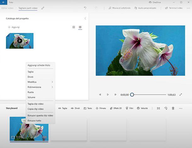 Come ritagliare l'immagine di un video con Foto di Windows 10