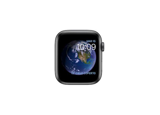 Quadrante Apple Watch Astronomia