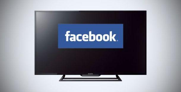 Facebook su TV