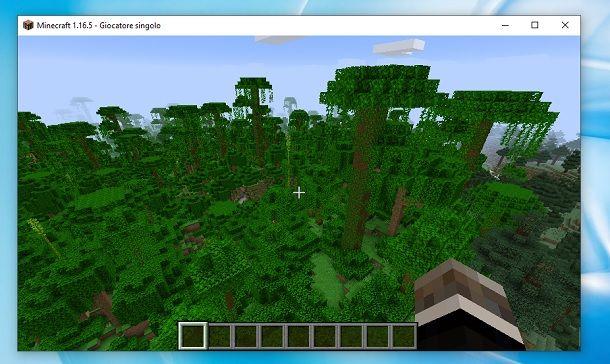 Dove si trova la giungla in Minecraft