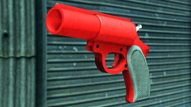 Pistola lanciarazzi GTA Online