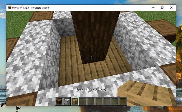 Assi di quercia Minecraft