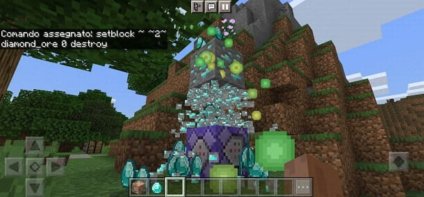 Come fare una farm di diamanti su Minecraft PE