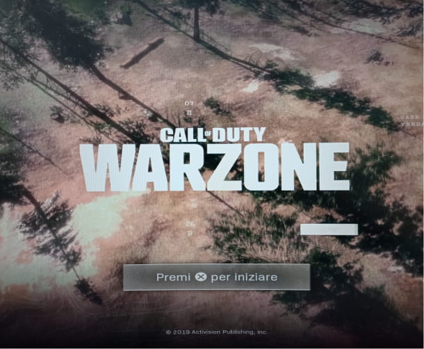 Warzone PS4