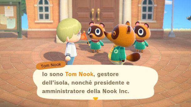 Introduzione di Tom Nook
