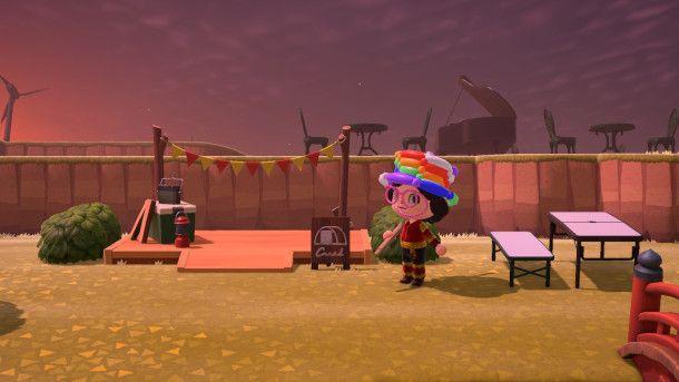 Accampamento di Animal Crossing