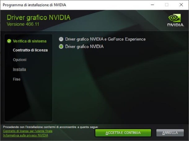 Standard Nvidia