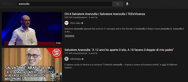 Aranzulla YouTube