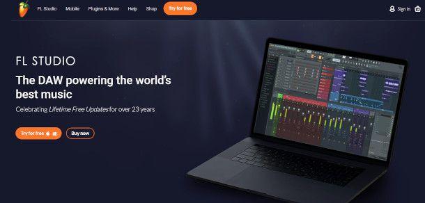 homepage fl studio