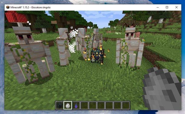 Come fare un Mob su Minecraft