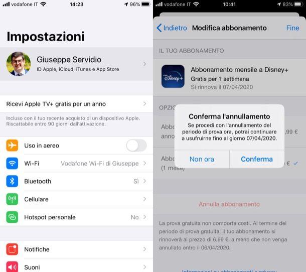 Come disattivare un'app a pagamento