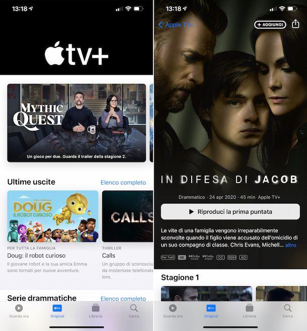 Apple TV\+ iPhone