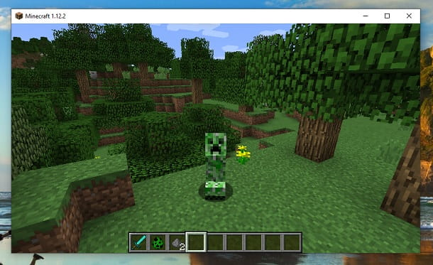 Diventare Creeper Minecraft Mod